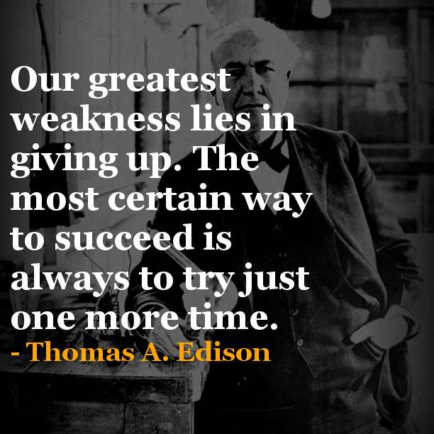Thomas Edison A Talented Man With Many Inventions Home Gorgeous Thomas Edison Quotes